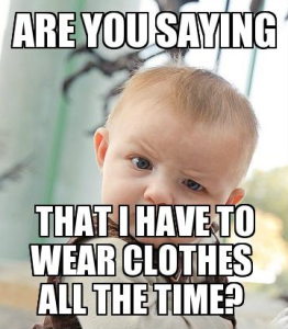 clothes baby