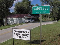nameless sign